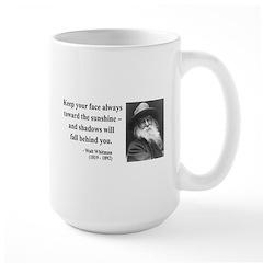 Walter Whitman 3 Large Mug