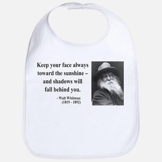 Walter Whitman 3 Bib