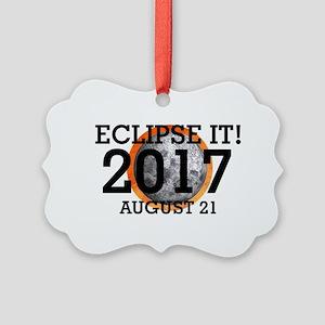 Eclipse 2017 Picture Ornament