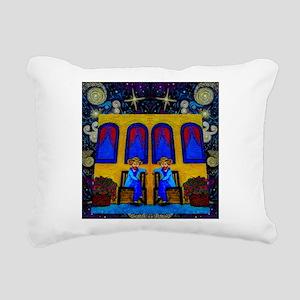 GOGH TWINS Rectangular Canvas Pillow