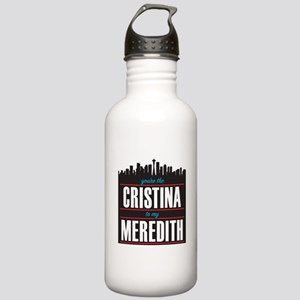 Grey's Cristina to my Stainless Water Bottle 1.0L