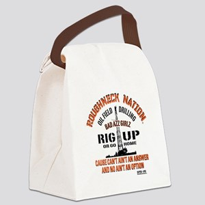 RIG UP BAD AZZ GIRLZ Canvas Lunch Bag