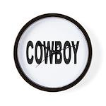 Cowboy Wall Clock