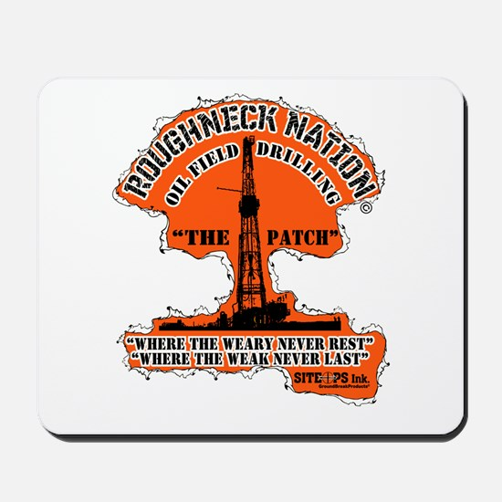THE PATCH OILFIELD DRILLING Mousepad