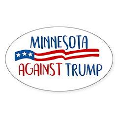 Minnesota Against Trump Decal