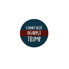 Connecticut Against Trump Mini Button