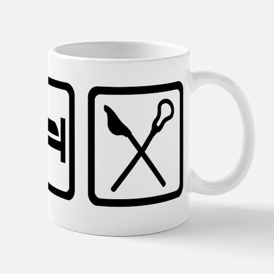 Eat Sleep Lacrosse Mugs