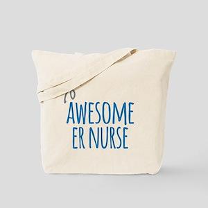 Awesome ER Nurse Tote Bag