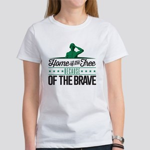 Army Home Free Braves Women's T-Shirt