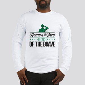 Army Home Free Braves Long Sleeve T-Shirt