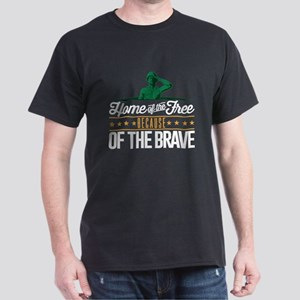Army Home Free Braves Dark T-Shirt