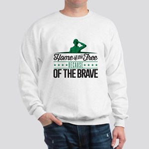 Army Home Free Braves Sweatshirt