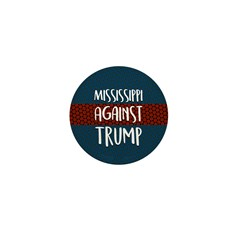 Mississippi Against Trump Mini Button