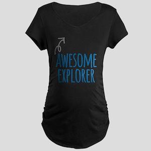 Awesome explorer Maternity T-Shirt