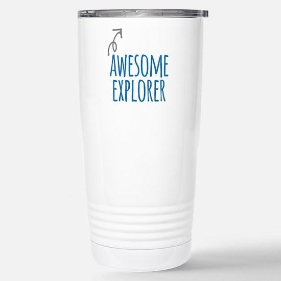 Awesome explorer Stainless Steel Travel Mug