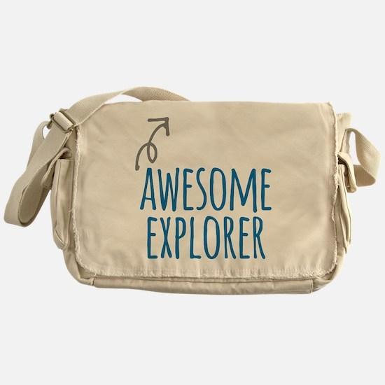 Awesome explorer Messenger Bag