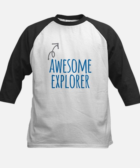 Awesome explorer Baseball Jersey