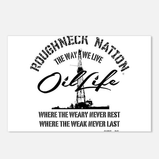 OIL LIFE Original Copyrig Postcards (Package of 8)