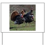 Four Gobblers Yard Sign