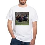Four Gobblers White T-Shirt