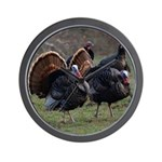 Four Gobblers Wall Clock
