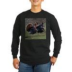 Four Gobblers Long Sleeve Dark T-Shirt