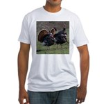 Four Gobblers Fitted T-Shirt