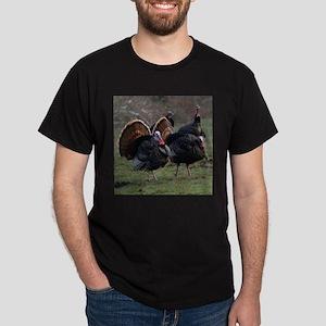 Four Gobblers Dark T-Shirt