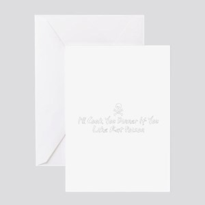 Rat Poison Greeting Card