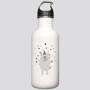 Party Polar Bear Stainless Water Bottle 1.0L