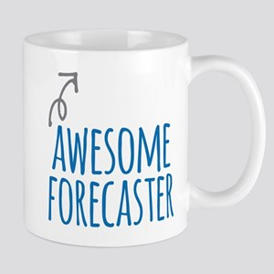 Awesome forecaster Mugs