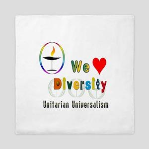 UU We Love Diversity Queen Duvet