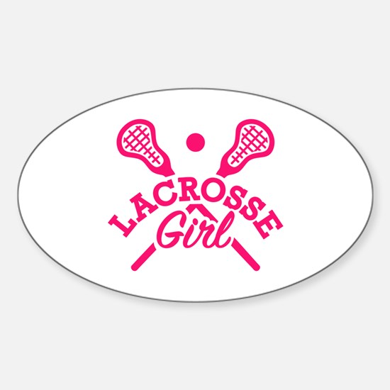 Lacrosse girl Decal
