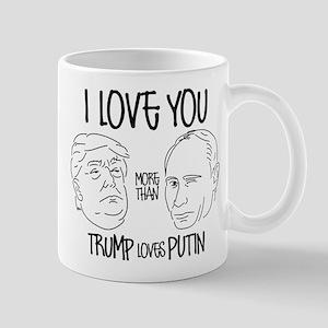 Trump Loves Putin Mug