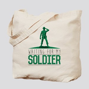 Army Waiting for my Soldier Tote Bag