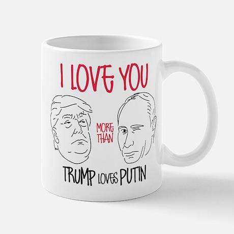 Trump Loves Putin Standard Mug