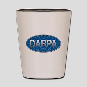 DARPA Logo Shot Glass