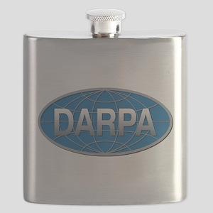DARPA Logo Flask