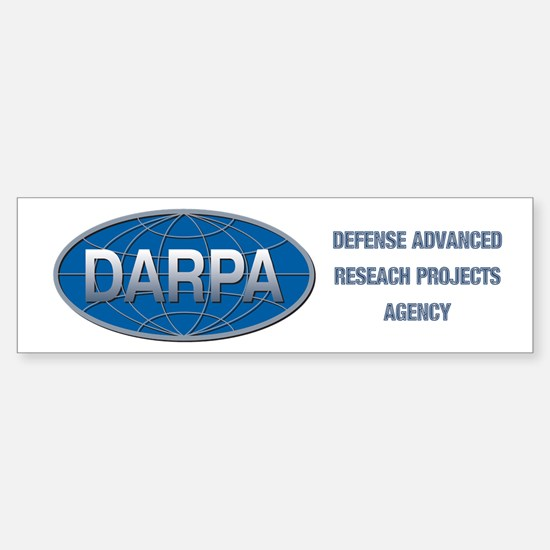 DARPA Logo Sticker (Bumper)