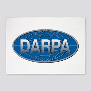 DARPA Logo 5'x7'Area Rug