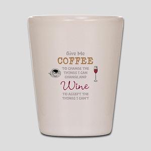 Coffee and Wine Shot Glass