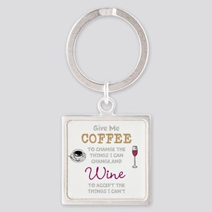 Coffee and Wine Keychains