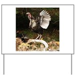 Turkey Flapping Wings Yard Sign