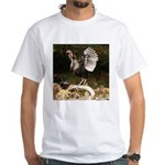 Turkey Flapping Wings White T-Shirt