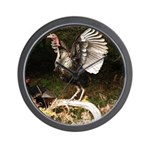 Turkey Flapping Wings Wall Clock