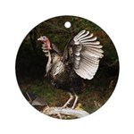 Turkey Flapping Wings Ornament (Round)