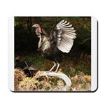Turkey Flapping Wings Mousepad