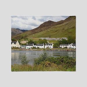 Dornie, Loch Long, Scotland Throw Blanket