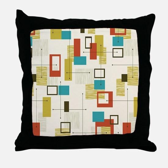 Funny Geometric Throw Pillow