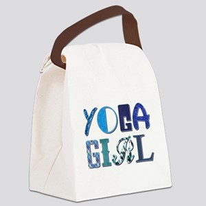 YOGA GIRL Canvas Lunch Bag